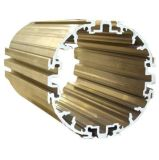 Aluminium extrudé / Profil en aluminium /l'industrie produit en aluminium