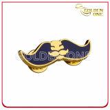 Personalizzato morire il distintivo inciso timbrato del metallo placcato oro