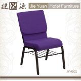 Аналогичным образом Purpel покрытие рамы церкви стульями (JY-G01)