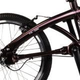 20 Inch Seamless Steel Pipe Foldable Cardanic Bike 20 '' Electric Folding Shaft Drive Bicycle Solid Pneu 3 Anos Guaratee