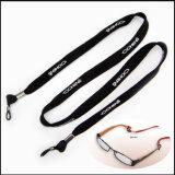안경알 홀더를 위한 폴리에스테 10mm 폭 좁은 관 직물 폴리에스테 목 방아끈