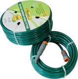 30 m (100') de dupla camada de borracha de água do jardim de PVC reforçados com fios de poliéster trançado