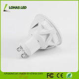 LED Light Dimmable 86-265V AC GU10 5W 6W 7W Lampe témoin LED à froid blanc
