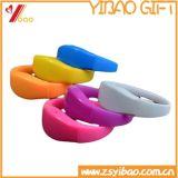 Sport Bangle Acessórios Moda Pulseira, Custom Logo Silicone Alloy Express Wholesale Bracelet