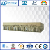 良質の軽量の石造りアルミニウム蜜蜂の巣のパネル