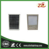 Luz de calle solar aprobada del Ce IP65 6W LED