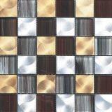 Mosaico de Foshan baño Espejo Mosaico de piedra de la mezcla de Cristal (MZ3010)