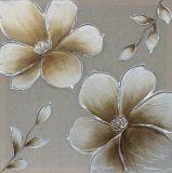 100% handgemachtes grosses schönes Blumen-Ölgemälde für Hauptdekoration