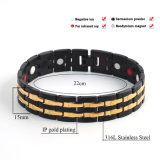 Power Sports Bracelets pour hommes Energy Black Color 10114