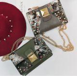 2018 Sprung und Sommer-Form-Niet-kleine quadratische Handtasche (BDMC170)