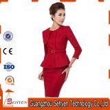 Wolle-formale Büro-Frauen-Umhüllungen-Fußleisten-Anzüge für Damen