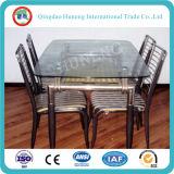 10mm Table en verre trempé Table Office (verre flotté clair)