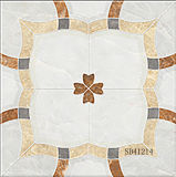 marmer van 600X600mm Inkjet poetste de Glanzende Tegel van de Vloer van het Porselein Ceramische op