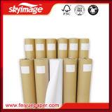 veloci di antiarricciatura del rullo 100GSM (0.914m*100m) asciugano il documento di trasferimento di sublimazione della tintura per la stampante di getto di inchiostro di ampio formato