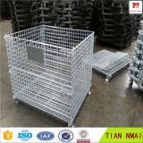 Gaiolas de armazenamento de aço com rodas