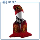 Conjunto de la bufanda del guante del sombrero del niño doble de Lanyer