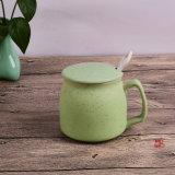 Copa de cerámica de desayuno Copa de cerámica para la leche, Taza de porcelana de café