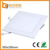 Panel-Deckenleuchte des Innenbeleuchtung-druckgießende Aluminiumshell-AC85-265V 24W 300X300mm quadratische LED