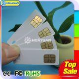 Mini cartão esperto personalizado do contato SLE4442 para máquinas de Vending