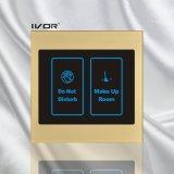 アクリルの輪郭フレーム(SKdB100SIN2)のホテルのドアベルシステム屋内パネル