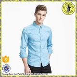 インドの人のための最新のワイシャツデザイン、人のワイシャツの切断
