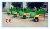 木製の砕木機Dh18の18HP Yammarのディーゼル機関、油圧フィードローラー、セリウムの証明書