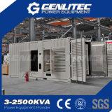 방음 콘테이너 유형 1000 kVA Cummins 디젤 발전기
