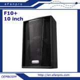 10 '' angeschaltener Fußboden-Stadiums-Monitor-Lautsprecher-Systems-Lautsprecher (F10+)
