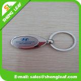De eenvoudige die Sleutelringen van het Metaal in de Uitstekende kwaliteit van China worden gemaakt