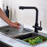 Colpetto del bacino del dispersore del rubinetto della cucina del filtro dall'acqua potabile dell'acqua di Flg