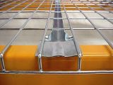 Decking lourd de treillis métallique d'entrepôt pour la crémaillère de palette d'entrepôt
