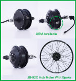 Motor eléctrico de alta velocidad del eje de rueda de la bici de Jb-92c