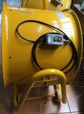 Industrieller axialer Ventilator mit Rädern