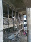 Ненесущая стена стеклянной ненесущей стены алюминиевая для Африки