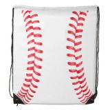 sac de cordon de base-ball du polyester 210d avec l'impression personnalisée de logo
