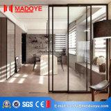 Дверь стеклянной перегородки алюминиевой рамки Tempered