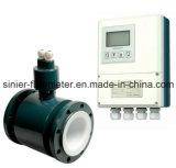 Flussometro elettromagnetico di alta qualità usato per acqua e l'acqua di acque luride