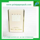 Caixa de empacotamento cosmética de dobramento de gravação de Purfume