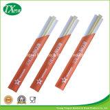 Palillos de papel de 3/4 bambú de Wraped