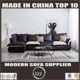 Curva L sofà della mobilia domestica di fabbricazione grande di figura