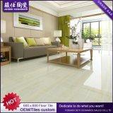 Mattonelle di pietra di marmo lustrate pavimentazione Polished del pavimento della porcellana per il salone Foshan