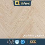 Plancher en stratifié stratifié en bois d'érable de la planche 12.3mm E0 AC4 de vinyle