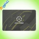 Impressão perfecta Custom Transparent PVC Clear Plastic Card