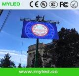 Visualizzazione di LED esterna dell'affitto/video parete con il comitato di 500X500mm/500X1000mm