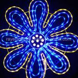 LED 큰 꽃 옥외 훈장 점화 LED 꽃 빛