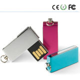 Impermeable Mini USB Colorfull pequeña giratoria Flash Drive (XU)