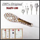 Capelli elettrici di Nasv di originale del commercio all'ingrosso 100% che raddrizzano pettine