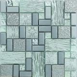 Het nieuwe Mozaïek van het Gebrandschilderd glas van de Aankomst in de V.S. (AJ2A214)
