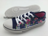 良質の子供の注入のズック靴の偶然靴は卸し売りする
