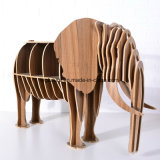 참신 아이들 가구 나무로 되는 코끼리 테이블